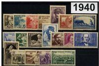 France Année complète 1940**