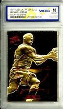 1997 Fleer Ultra 23K Michael Jordan Court Masters Graded 10 Limited Ed.Chi.Bulls