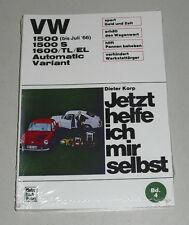 Reparaturanleitung VW 1500 / 1600 Typ 3 incl. S / TL / EL / Variant / Automatic