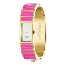 Kate Spade Come Full Circle Pink Carousel Bangle Pink Watch Agsbeagl #COD Paypal