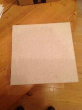 White Unglazed Porcelain Floor tiles Riven Surface 300x 300 Job Lot  25 M2