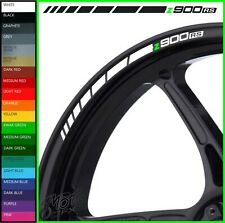 8 x Z900RS Wheel Rim Decals Stickers - 20 colours available - z 900 rs cafe z900