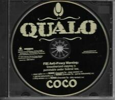 QUALO  promo Coco cd single w/ six versions