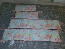 Baby Girl Koala Baby Pink Floral And Polka Dot Set Of Crib Bumpers