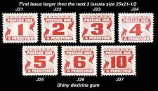 CANADA - J21-27 + J28-36 + J28a-37 + J28i-40 Postage Due  - (All 4 series)