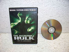 The Incredible Hulk Original Television Premiere DVD Out of Print