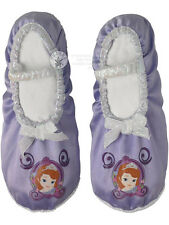 Child Disney Sofia The First Ballet Pumps Fancy Dress Shoes Princess Slippers