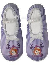 Child Disney Sofia The First Ballet Pumps Fancy Dress Shoes Princess Slippers