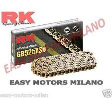 RK CATENA TRASMISSIONE 525XSO ORO 120 MAGLIE CLF KTM LC8 SUPERMOTO R SM 950 990