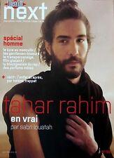 Mag NEXT 2013: TAHAR RAHIM_GUILLAUME HENRY (CARVEN)_CATHERINE JOURDAN