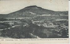 Early 1900's View of Manufacturing Section in Chattanooga, TN Tennessee PC