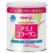 ☀ Meiji Amino Collagen Powder 90g Can Food Cosmetic Supplement 30 days Japan ☀