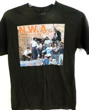 NWA and the Posse-Gangster Rap-Mens/Teens T-Shirt, Size Adult Medium-100% Cotton