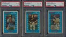 1982 Kellogg  Baseball PSA 8 NMMT avg lot of 6 different graded cards 55850