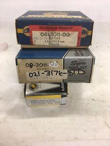 FITS PORSCHE 356A/B/C 1582cc 82.5mm 1956-1965 PISTON RING SET 021-3176-STD