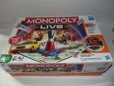 Jeu de Société - Hasbro de 2011  ** monopoly live Electronique  complet ***