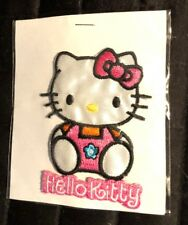 Hello Kitty Sew or Iron On Patch 3""