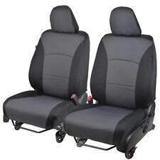 Black & Charcoal Gray Poly-Cloth Custom Car Seat Covers for Honda Accord 2013-15