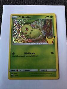2021 Pokémon CHIKORITA CARD McDonalds