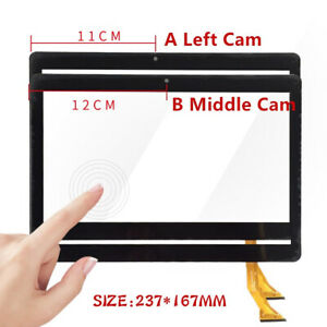 "Touch Screen Digitizer Glass For Mediatec KT107 Mediatek KT107 10.1"" Tablet PC"