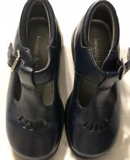 Shoes Girls Jumping Jacks Sz 10M Navy With Cutouts
