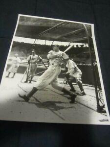 Gil Hodges Brooklyn Dodgers Baseball B&W Photo Original George Brace 11x14