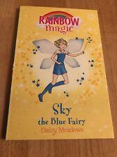 Sky the Blue Fairy: The Rainbow Fairies: Book 5 by Daisy Meadows. New Book