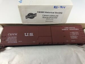Accurail  C&NW Historical Society 40' Wood Boxcar C&NW #141200 - unbuilt kit