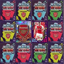 Match Attax 2015 2016 Football Single Cards Arsenal - Various Players