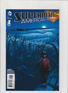 Superman American: Alien #1 NM- 9.2 DC Comics 2016 New 52