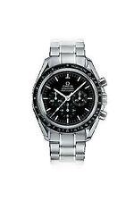 Gebürstete Armbanduhren aus Edelstahl für Herren