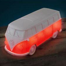Official VW Volkswagen Red Campervan Mood Night Light Bedside Lamp - Boxed