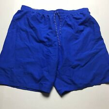 Nike Mens Size 3XL Blue Swim Trunks Mesh Breif Lining A1291