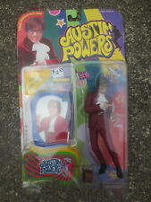 1999 Austin Powers Action Figure Carded McFarland Toys New