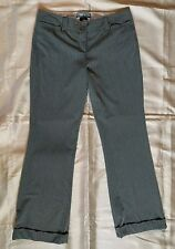 Low Rise Pin Stripe Gray Star City Dana Women's Dress Pants Junior's Size 11