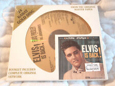 ELVIS IS BACK! 24 KARAT GOLD CD NEW LIVING STEREO DCC COMPACT CLASSICS PRESLEY