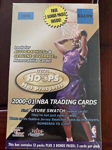 2000-01 FLEER HOOPS HOT PROSPECTS BASKETBALL 14 CT RETAIL BLASTER BOX