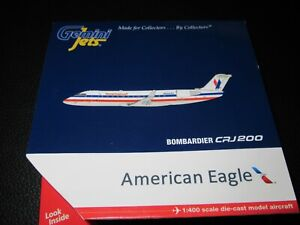 Gemini Jets 1:400 American Eagle CRJ 200