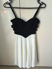 Sweetaeacia Black & White Dress - Size 8