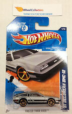 '81 Delorean DMC-12 #141 * FTE Rims * USA CARD * 2011 Hot Wheels * G18