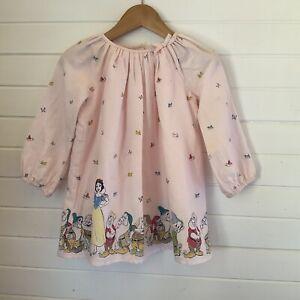 Gap X Disney Snow White Long Sleeved Dress - Size 18-24 months