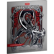 D&d Character Sheets by Wizards RPG Team Paperback