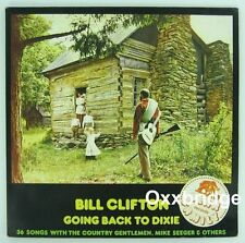 BILL CLIFTON Going Back To Dixie MIKE SEEGER 2xLP BEAR FAMILY Book Country Blues