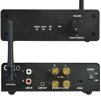 80W Multi-Room Wi-Fi Amplifier -Wireless Music Streaming Loud Speaker Hi-Fi Amp