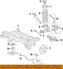 Acura HONDA OEM 10-13 ZDX Rear-Shock Absorber or Strut 52610SZNA01
