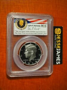 2014 P 50C PROOF SILVER KENNEDY HALF DOLLAR PCGS PR70 DCAM FIRST STRIKE DENVER
