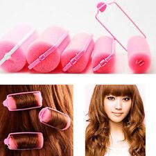 6Pcs Amazing Magic Sponge Foam Hair Curlers Curling Styling Rollers Twist Tool