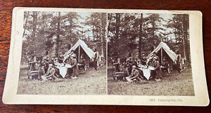 Ultra Rare William Henry Jackson Stereoview Card