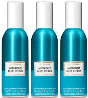 Bath & Body Works Midnight Blue Citrus Concentrated Room Spray X3