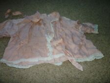 Early Antique Bed Jacket Silk